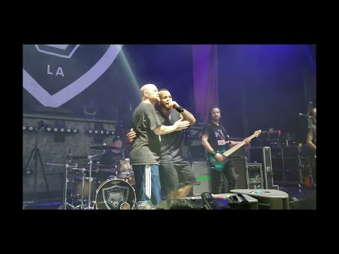 Bad Wolves - Zombie (w/ Ivan Moody); DTE Energy Music Theater; Clarkston, MI; 9-1-2018