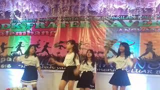 Dance Kelas 6 @ SDK FRATER XAVERIUS 2 PALEMBANG