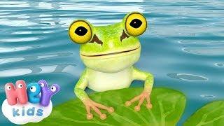 Küçük Kurbağa 🐸 Çocuk Şarkıları Dinle 2018   HeyKids