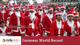 18,000 plus Santa Claus - the largest gathering of Santa Clauses ever