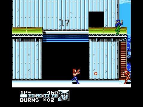 [Dendy/NES] Contra Force (Super Contra 6)[Полное прохождение / Longplay]