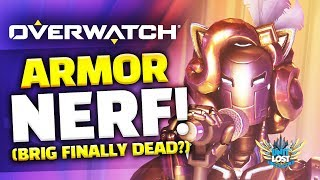 Overwatch - Armor Nerf (End of Brig?) - Paris Map Live!
