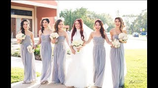 How To Hem Chiffon : Bridesmaid Dress, Part 1 Of 2