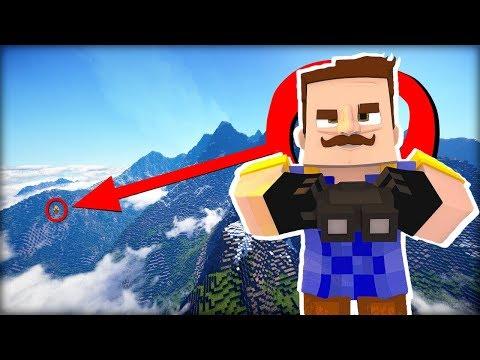 ZMRZLÝ HORSKÝ Ahoj Sousede v Minecraftu ! VYKRADENÍ SOUSEDA!