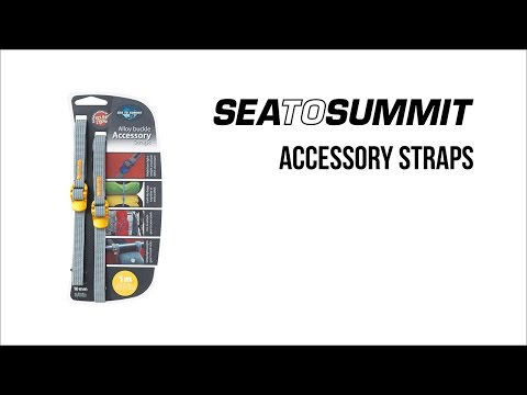 Sea To Summit Accessory Strap With Hook Release Buckle Video