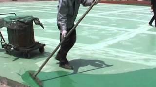 Polyurethane Flooring for basketball Court/volleyball court