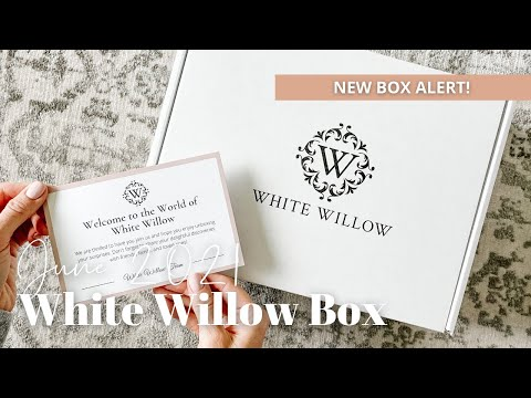 White Willow Box Unboxing June 2021
