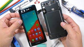 ZTE nubia X - Dual Screen Smartphone Teardown! - How does it work?!