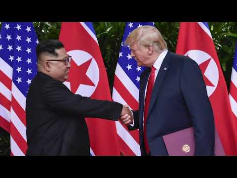 President Donald Trump says he's ready to meet again with Kim Jong Un to discuss North Korea's nuclear weapons. In a Cabinet meeting Wednesday, Trump said he'd just received a letter from the North Korean leader. (Jan. 2)