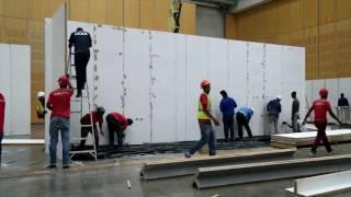 Build up at Cape Town Art Fair