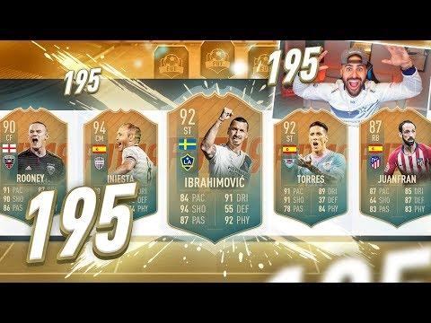 OMG *NEW* INSANE DRAFT CARDS!! 195 DRAFT CHALLENGE!! FIFA 19 Ultimate Team