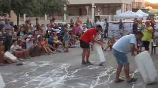 preview picture of video 'Carreres de marès - Festes de ses Cadenes 2014'
