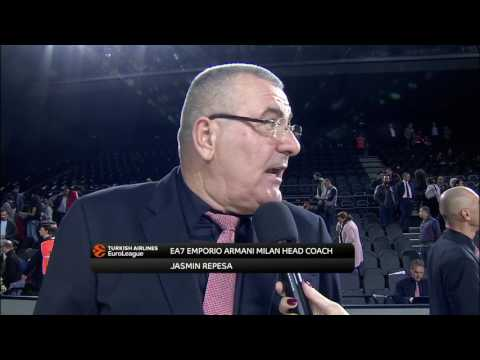 Post-game interview: Coach Repesa, EA7 Emporio Armani Milan