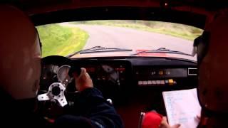 preview picture of video 'RTE Ózd Rallye 2013    Zahorecz J. (Tyuki) - Molnár L. Gy 1.'