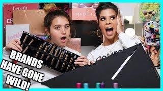 BIGGEST PR UNBOXING EVER 2019 | free makeup beauty gurus get!