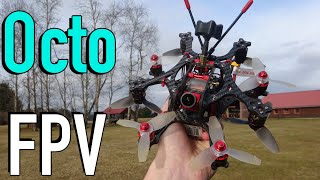Flying a 3inch Octocopter FPV