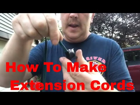 How To Make Extension Cords For Christmas Lights
