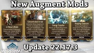 Warframe | New Augment Mods For Mesa, Ivara, Nezha  Equinox (Update 22.17.3)