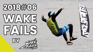 Best Wakeboard Fails Of June 2018 By Wakefails.com