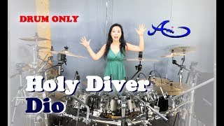 [New] DIO - Holy Diver drum only (cover by Ami Kim) (#47-2)
