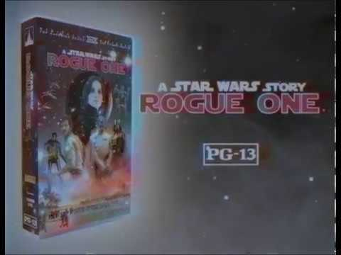 Retro Rogue One Ad Makes Us Nostalgic For VHS Tapes Again