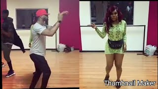 Niniola Disgrace & Destroy Mr P (Psquare) In A Dancing Competition