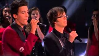 "Finale Night Performance - Vocal Rush & Ben Folds - ""Peace On Earth/Little Drummer Boy"""
