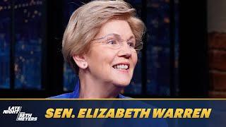 Sen. Elizabeth Warren Says Manchin and Sinema Don't Have All the Power