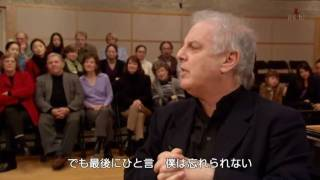 Barenboim talks about music