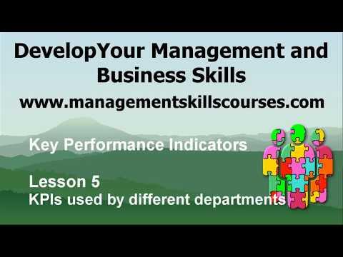 Key Performance Indicators Lesson 5 - YouTube