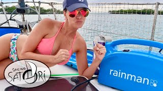 Rainman Watermaker: 10 Minute Challenge! Kelly Vs. Rainman! (Sailing Satori) OTH:8