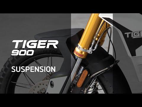 Nueva Triumph Tiger 900 – Novedades – Suspensión