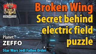 Video Broken Wing Secret behind electric field puzzle Walkthrough