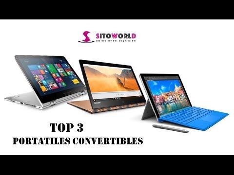 TOP 3 Los mejores portatiles convertibles del mercado