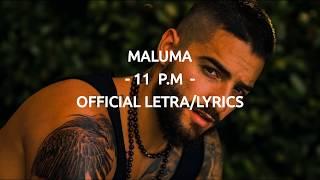 Maluma   11 P.M   Official LetraLyrics