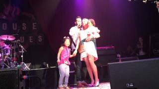 Monday After Masters 2015 concert Josh Kelley Katherine Heigl rap to Snoop Dogg