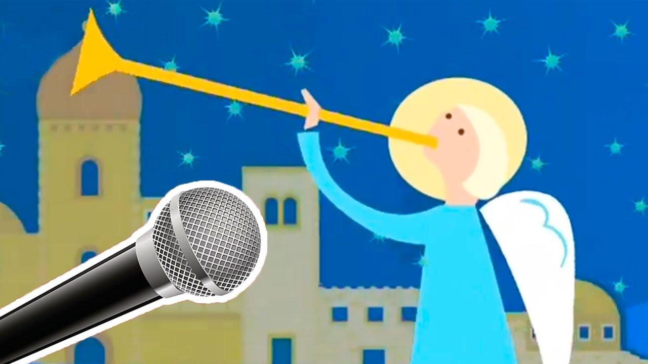 Karaoke del villancico Al filo de la medianoche