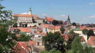 preview picture of video 'Mikulov - Svatý kopeček - zámek'