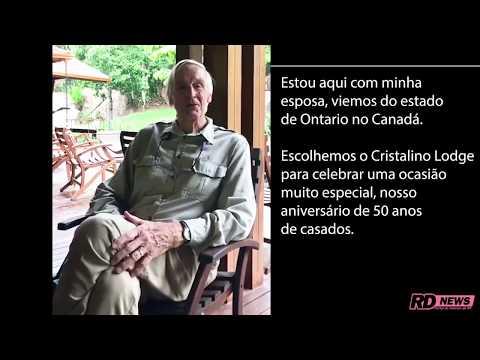 """Para marcar os 50 anos de união, casal de canadenses escolhe selva de MT - <font color=""""red"""">relatos</font>"""