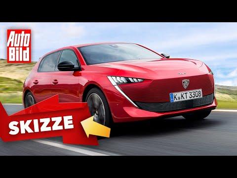 Peugeot 308 (2021): Skizze - Kompaktwagen - Marktstart - Motor - Info