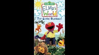 Elmo's World: The Great Outdoors (2003 VHS)