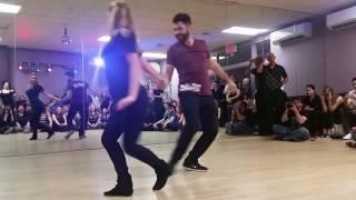 Ben Morris & Victoria Henk - Saturday Night Demo At Club 412 In NYC