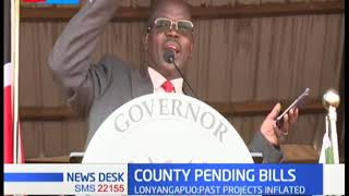 West Pokot Governor Prof. Lunyangapuo defends his move for not paying pending bills