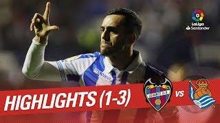 Highlights Levante UD vs Real Sociedad (1-3)