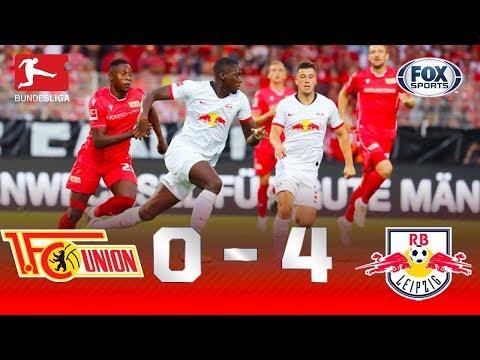 UM BAILE FORA DE CASA! Veja os melhores momentos de Union Berlin 0x4 Leipzing pela Bundesliga