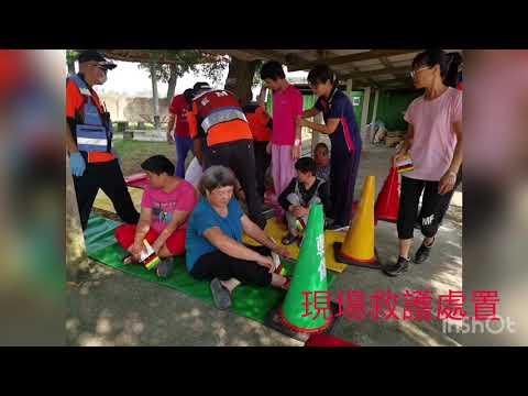 第二大隊官田分隊永靜教養院組訓演練