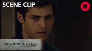 Shadowhunters | Season 2, Episode 12: Alec Stops Valentine's Execution | Freeform