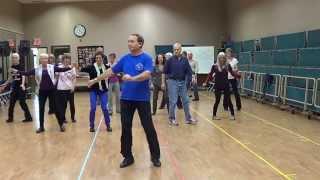 ZORBA Line Dance @ 2013 Calgary Folk Dance Workshop
