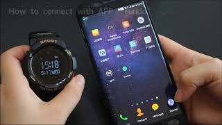 Show NO.1 F6 Smartwatch All functions and how to connect with APP