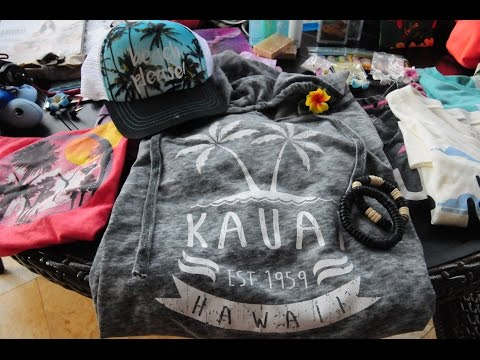 Video Hawaii Haul - 2017 | Kauai Souvenirs